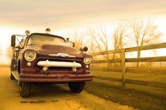 Klasyczny samochód strażacki Obraz Royalty Free