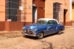 Klasyczny samochód w Trinidad, Kuba Obrazy Stock