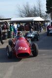 Klasyczny samochód wyścigowy przy 72nd GRRC członków spotykać Zdjęcia Royalty Free