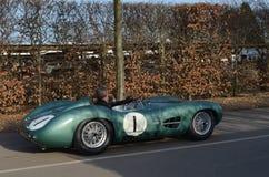 Klasyczny samochód wyścigowy przy 72nd GRRC członków spotykać Obraz Stock