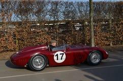 Klasyczny samochód wyścigowy przy 72nd GRRC członków spotykać Fotografia Royalty Free