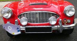 Klasyczny samochodowy Austin Healy zdjęcia stock