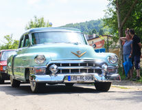 Klasyczny samochodowy festiwal, Zły Koenig, Niemcy Obraz Stock