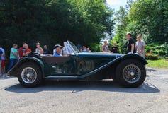 Klasyczny samochodowy festiwal, Zły Koenig, Niemcy Fotografia Stock