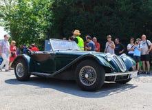 Klasyczny samochodowy festiwal, Zły Koenig, Niemcy Zdjęcie Royalty Free