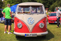 Klasyczny samochodowy festiwal, Zły Koenig, Niemcy Obrazy Stock
