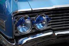Klasyczny samochodowy frontowy światło Zdjęcia Royalty Free