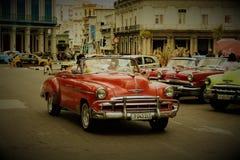 Klasyczny samochodowy Hawański obraz royalty free