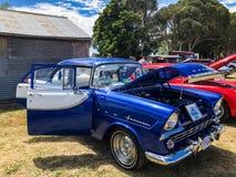 Klasyczny samochodowy przedstawienie Blayney NSW Australia 1960 FB Holden 03/03/2018 Obrazy Royalty Free