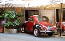 Klasyczny samochodowy Rzym Zdjęcie Stock