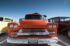 Klasyczny samochodowy silnik Obrazy Royalty Free