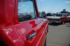 klasyczny samochodu spotkanie Zdjęcia Royalty Free