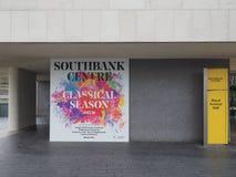 Klasyczny sezon przy Southbank centre w Londyn Obrazy Stock