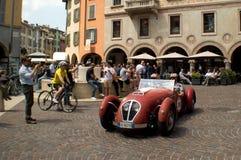 Klasyczny spyder przy Mille Miglia 2015 Zdjęcie Stock