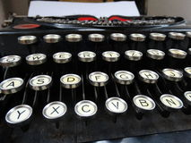 Klasyczny Stary maszyna do pisania Obraz Stock