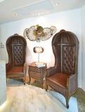 Klasyczny stylowy krzesło obraz stock