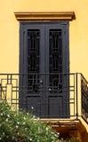 klasyczny szczegółów drzwi styl Obrazy Royalty Free