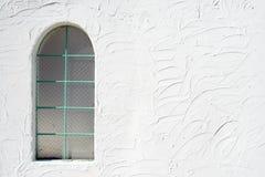 Klasyczny szklany okno Zdjęcia Stock