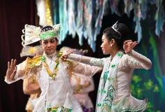 klasyczny taniec Myanmar Zdjęcia Stock