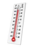 klasyczny termometr Zdjęcia Stock