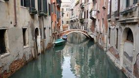 Klasyczny venetian architektury i kanału pejzaż miejski włochy Wenecji zbiory