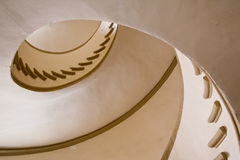 Klasyczny włoski schody Zdjęcia Royalty Free