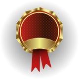 Klasyczny wektorowy logo, wdzięczność, nagrody Obrazy Stock