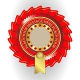 Klasyczny wektorowy logo, wdzięczność, nagrody Obraz Stock