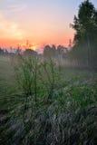 Klasyczny wieś krajobraz Obrazy Stock