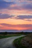 Klasyczny wieś krajobraz Zdjęcie Stock