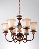 klasyczny świecznika oświetlenie Obrazy Royalty Free