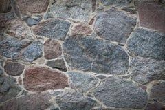 Klasyczny winiety kamiennej ściany tło Fotografia Royalty Free
