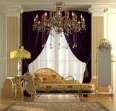 klasyczny wnętrze Zdjęcia Royalty Free