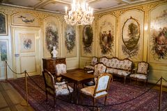 Klasyczny wnętrze formalny salon Fotografia Stock