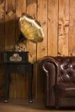 Klasyczny wnętrze z gramofonem Fotografia Royalty Free