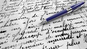 Klasyczny writing royalty ilustracja