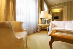 klasyczny wygodny żywy pokój Zdjęcie Stock