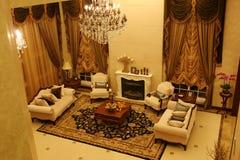 klasyczny żywy pokój Fotografia Royalty Free