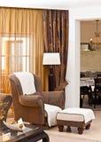 klasyczny żywy pokój Obrazy Royalty Free