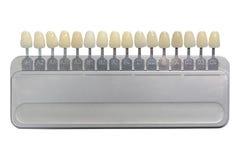 Klasyczny zębu prosthesis cieni stomatologicznego wszczepu stomatology fotografia stock