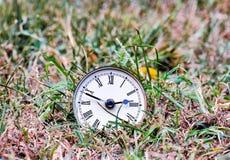 Klasyczny Zegarowego czasu pojęcie Obrazy Stock