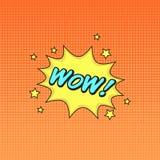 Klasycznych komiczek mowy majcheru książkowy no! no!! z mowa symbolem i s Zdjęcia Royalty Free