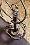 Klasycznych mozaika schodków ornamentacyjny element Obraz Stock