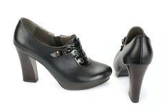 Klasyków buty na białym tle Fotografia Stock