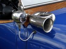 Klasyk i rocznika Samochodowy szczegół Obraz Royalty Free