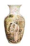 klasyk odizolowywająca stylowa tajlandzka waza Obraz Royalty Free