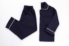 Klasyk stylowa piżama dla mężczyzna zdjęcie stock