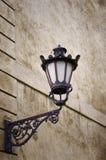 Klasyk zewnętrzna ścienna lampa zdjęcia royalty free