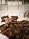 klasyka łóżkowy styl Obraz Royalty Free