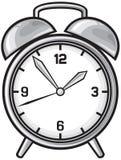 klasyka alarmowy zegar Ilustracji